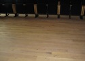 Türi Muusikakooli aula, tammelaud liimitud vineerile